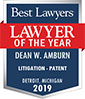 Dean Amburn Lawyer of the year